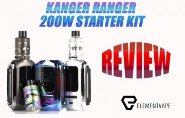 Kanger Ranger 200W Starter Kit Review