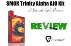 SMOK Alpha Trinity AIO Vape Starter Kit A Second Look