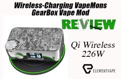 Is the Wireless-Charging VapeMons GearBox Mod a True Evolution or Shelf Pollution?
