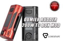 OUMIER RUDDER 200W TC BOX MOD