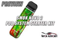 SMOK NOVO 2 REVIEW BY Spinfuel VAPE