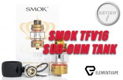 SMOK TFV16 Sub-Ohm Behemoth – The King is Back? Let's Review