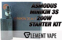 ASMODUS MINIKIN 3S 200W STARTER KIT FEATURE IMAGE