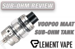 Voopoo MAAT Sub-Ohm Tank Review