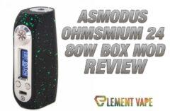 asMODus Ohmsmium 24 80W Box Mod Review - Feature Image