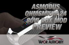 asMODus Ohmsmium 24 80W Box Mod Review SPINFUEL VAPE