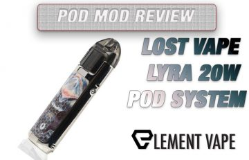 Lost Vape Lyra Pod Mod - AIO System Review
