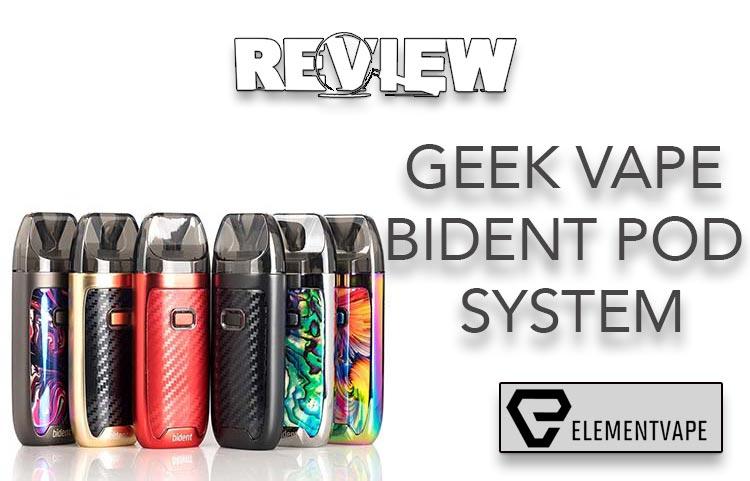 Geek Vape Bident Pod System Review Spinfuel Vape
