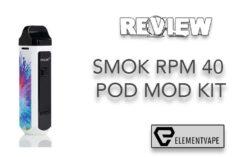 FESATURE REVIEW - SMOK RPM40 40W Pod Mod Kit