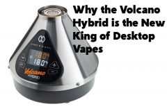 Why the Volcano Hybrid is the New King of Desktop Vapes