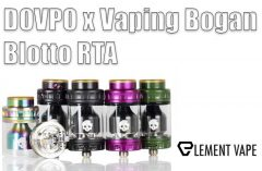 DOVPO x Vaping Bogan Blotto RTA Review