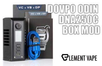 DOVPO ODIN DNA250C BOX MOD REVIEW BY SPINFUEL VAPE