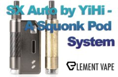 YiHi SX Auto Squonk Pod System Review