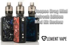Voopoo Drag Mini Refresh Edition Mod Kit Review
