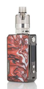 Red - Voopoo Drag Mini Refresh Edition Mod Kit Review
